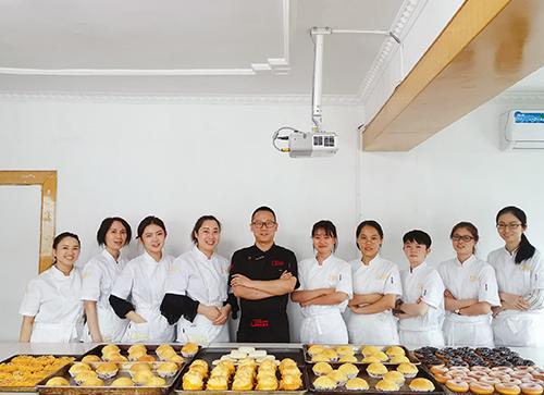 重庆面包培训学员
