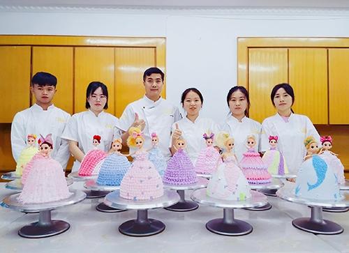 蛋糕培训学员