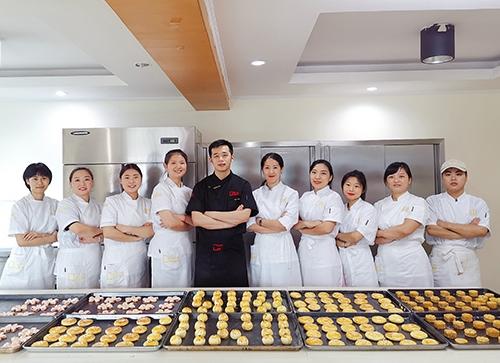面包烘焙培训学员
