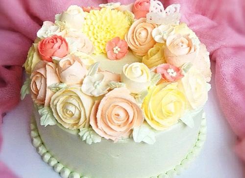 韩式裱花蛋糕培训